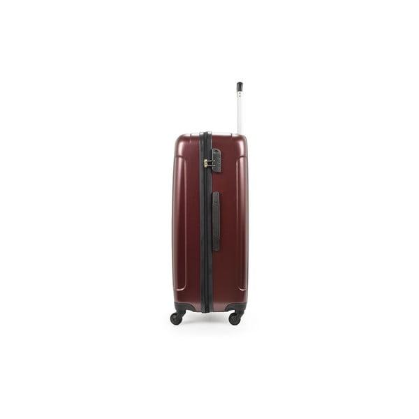 Zestaw 3 walizek Roues Cadenas Bordeaux, 105 l/72 l/40 l