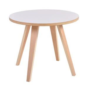 Biały okrągły stół Garageeight Arvika