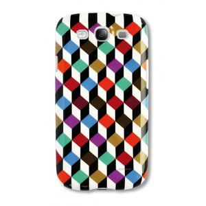 Etui na telefon Galaxy S3 Cubic