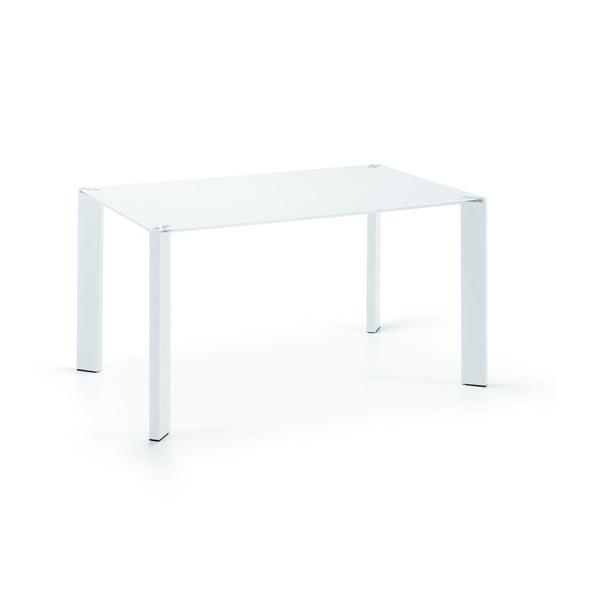 Stół do jadalni Corner, 140x90cm, białe nogi