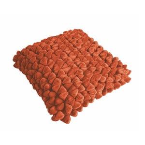 Pomarańczowa poduszka ZicZac Pebble, 45x45 cm