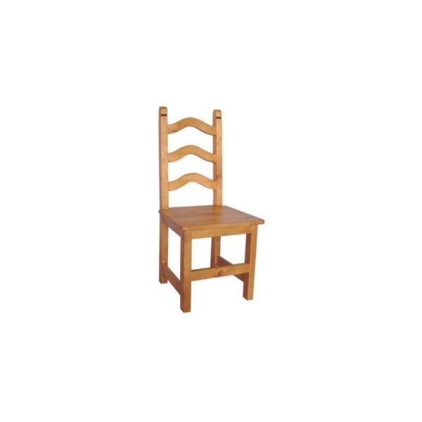 Krzesło z woskowanej sosny SIT