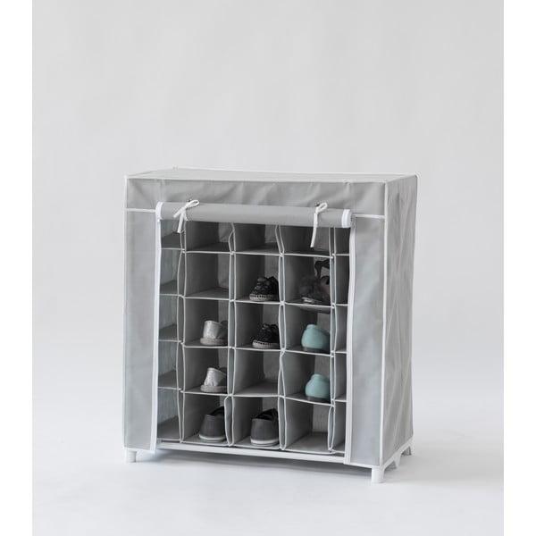 Materiałowa szafka na buty Grey Shoes