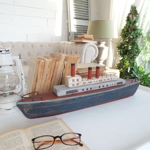 Dekoracja Vintage Ship