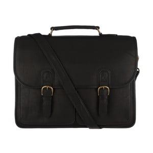 Skórzana torba męska Herdley Black