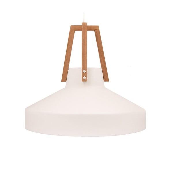 Biała lampa wisząca Loft You Work, 33 cm