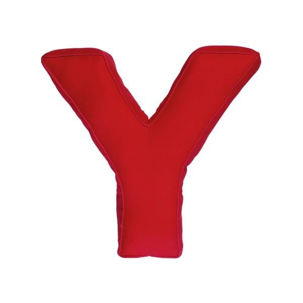 Poduszka w kształcie litery Y, czerwona