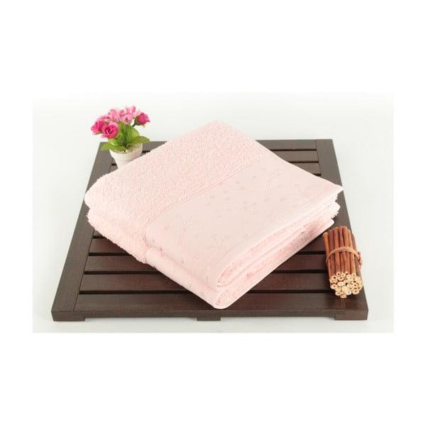 Zestaw 2 ręczników Tomur Pink, 50x90 cm