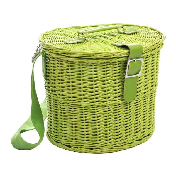 Kosz piknikowy Picnic Green, 35x30x28 cm