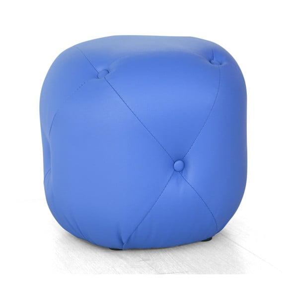 Puf Cubis, niebieski