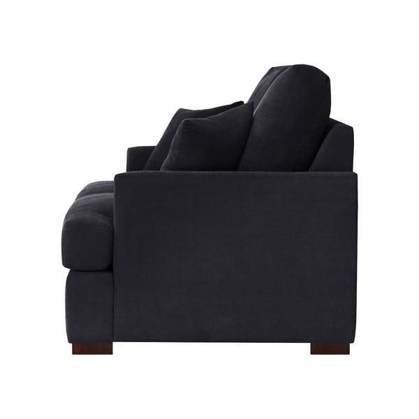 Sofa dwuosobowa Jalouse Maison Irina, czarna