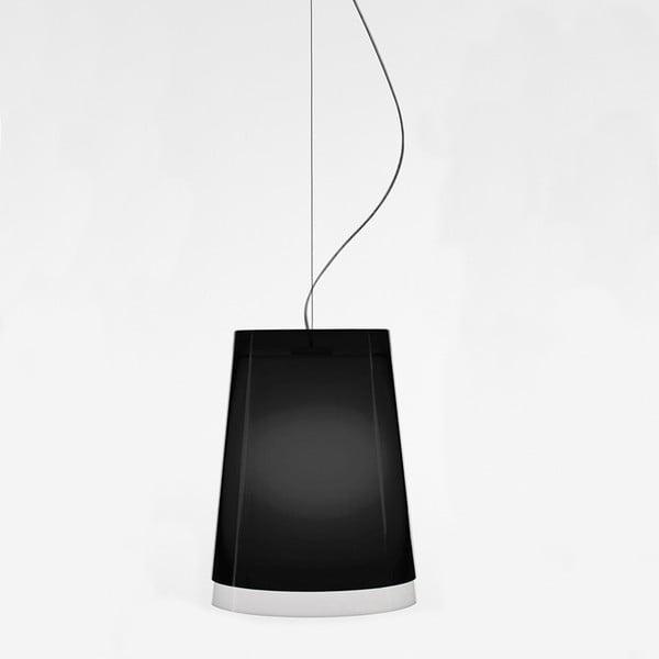 Czarna lampa wisząca Pedrali L001S/AA