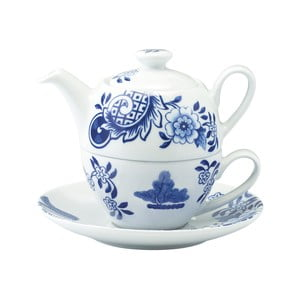 Dzbanek na herbatę i filiżanka Willow Love Story