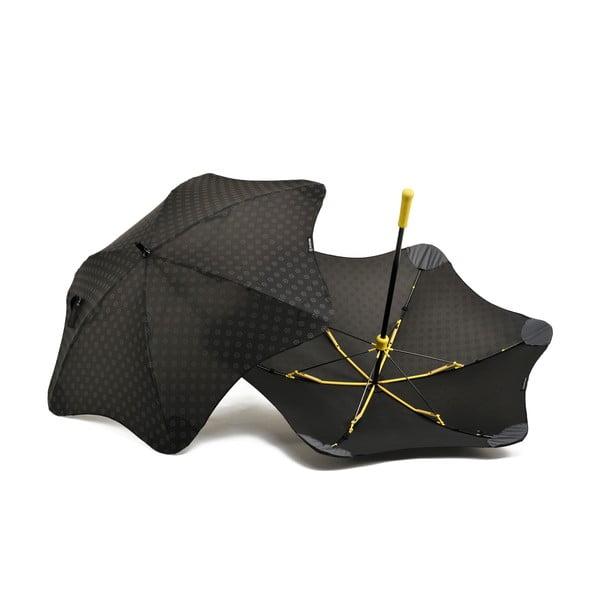 Super wytrzymały parasol Blunt Mini+ z odblaskowym pokryciem, żółty