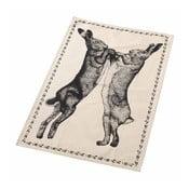 Ścierka Boxin Hare, czarno-biała