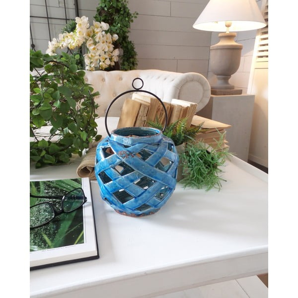 Lampion Blue Antique Milano