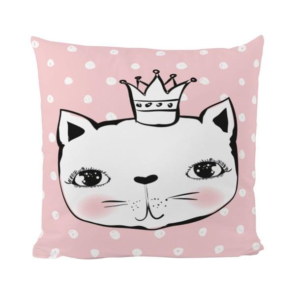 Poduszka   Cat Princess, 50x50 cm