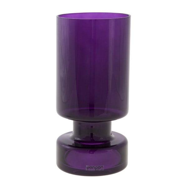 Wazon/świecznik Delhi 17.8 cm, fioletowe