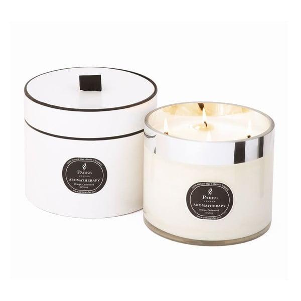 Świeczka Aromatherapy Candles, Orange Cedarwood & Clove, 100 godzin