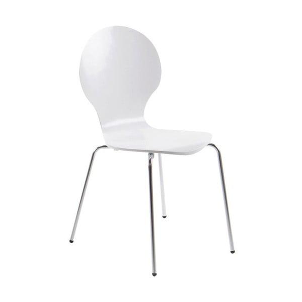 Białe krzesło Actona Marcus