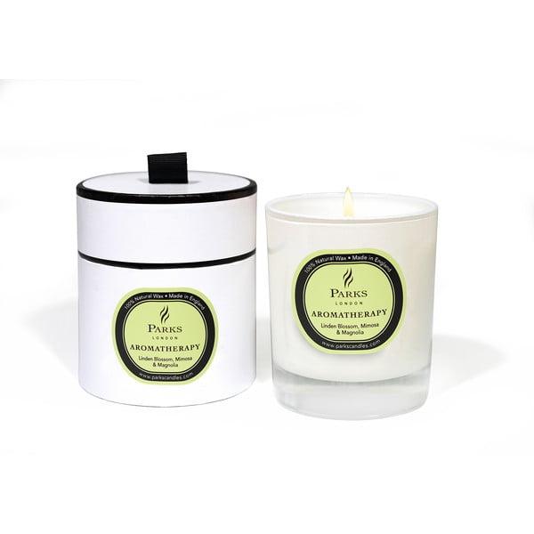 Świeczka o zapachu kwiatu lipy, mimozy i magnolii Parks Candles London