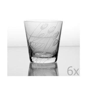 Zestaw 6 szklanek Czarnuszka 330 ml