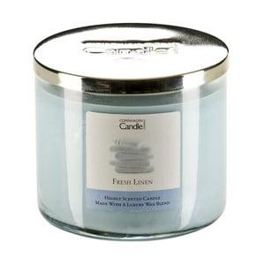 Świeczka zapachowa Fresh Linen, czas palenia 50 godzin
