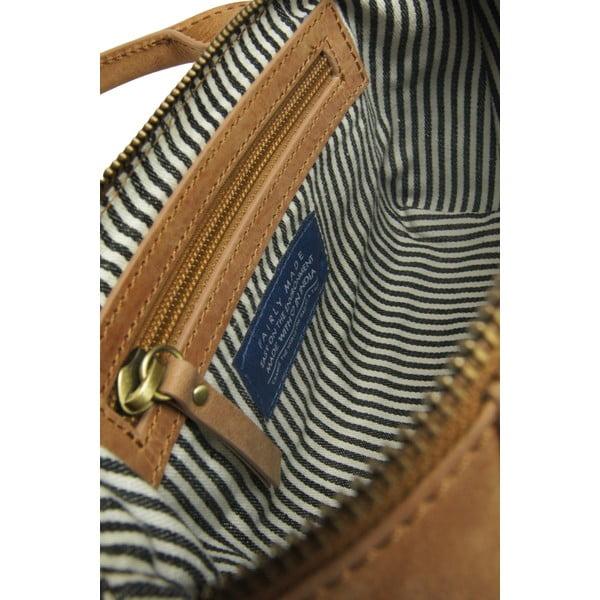 Karmelowa torebka skórzana  O My Bag Fly Violet Nano