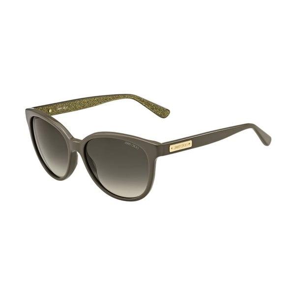 Okulary przeciwsłoneczne Jimmy Choo Lucia Grey Glitter/Brown