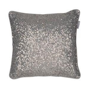 Brązowa poduszka Walra Glitter, 45x45cm