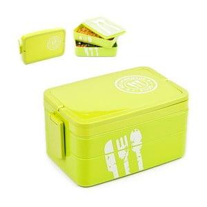 Pudełko śniadaniowe Homemade Food, zielone