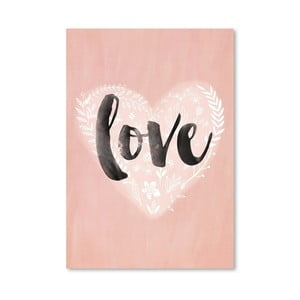 Plakat (projekt: Mia Charro) - Love Heart