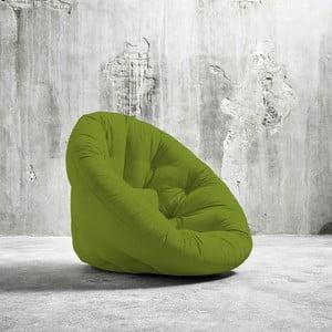 Fotel rokładany Karup Nido Lime