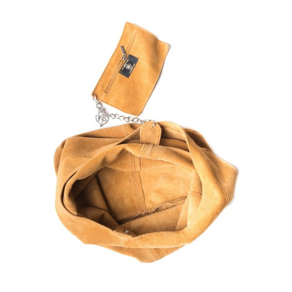 Koniakowa torebka skórzana Roberta M 885