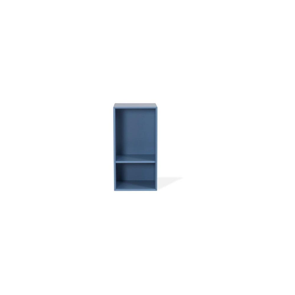Niebieski regał Tenzo Z Halfcube, 36x70 cm