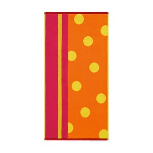 Ręcznik Punkte Kumquat, 70x140 cm