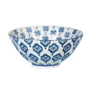 Porcelanowa miska Ikat Blue