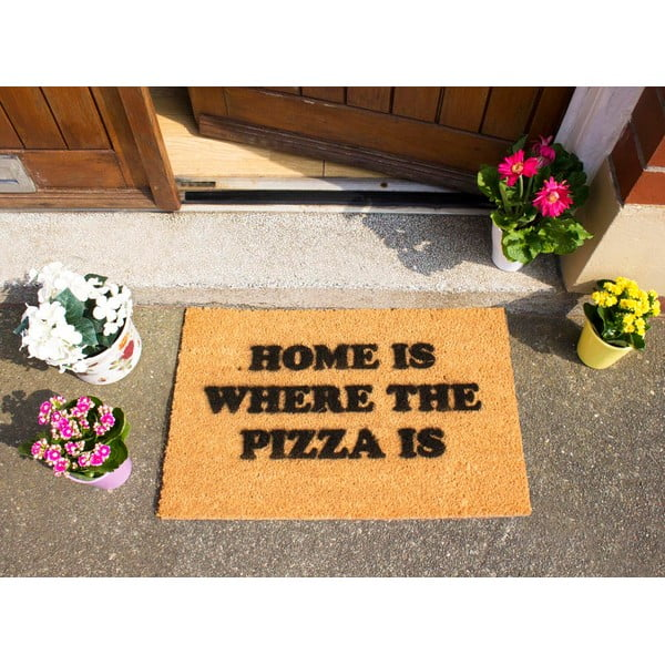 Wycieraczka Artsy Doormats Home Is Where the Pizza Is, 40x60 cm
