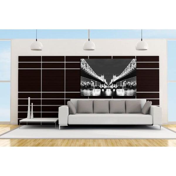 Obraz Night Vision White, 81 x 122 cm