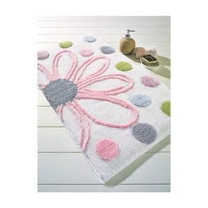 Biały dywanik łazienkowy Confetti Bathmats Alinda, 50x60 cm