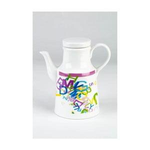 Ceramiczny dzbanek na olej ABC