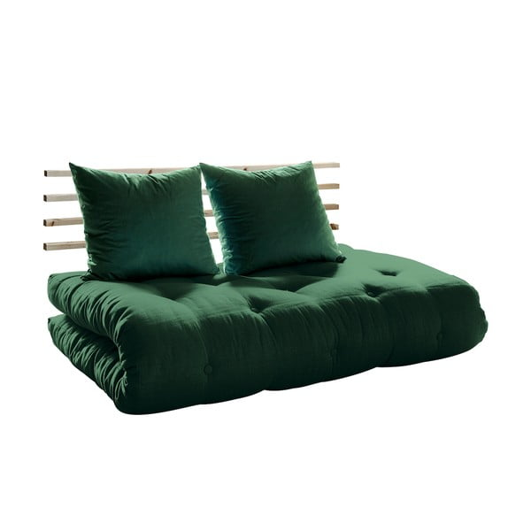 Sofa rozkładana Karup Shin Sano Natur/Botella