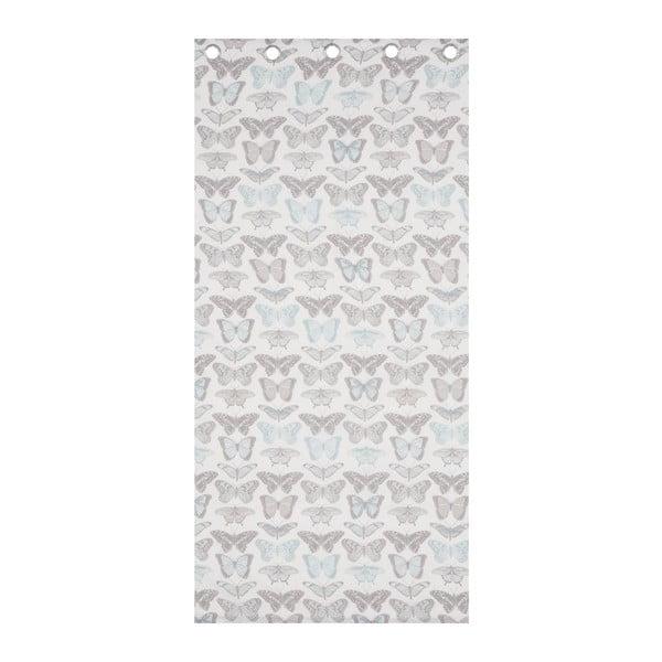 Zasłona Pastiche Butterflies Duckegg, 168x183 cm