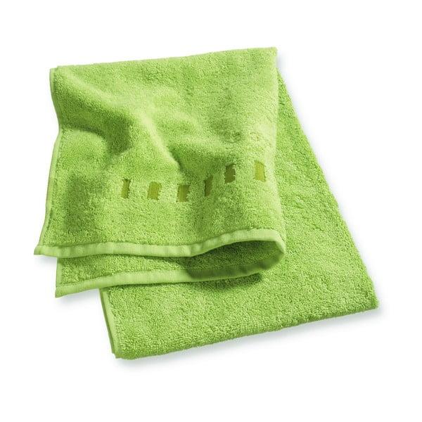 Limonkowy ręcznik Esprit Solid 35x50 cm