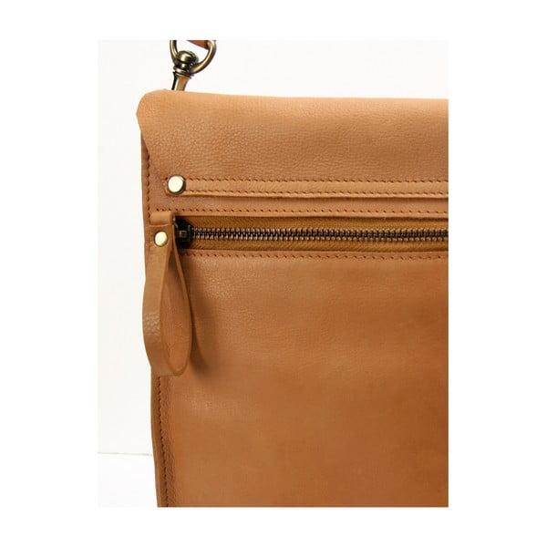 Karmelowa torba skórzana vintage O My Bag Sleazy Jane