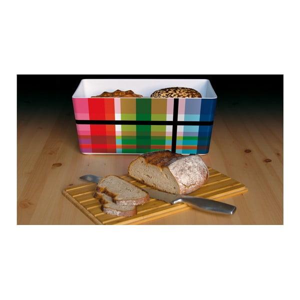Pojemnik na chleb z bambusowym wieczkiem Remember ZigZag
