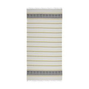 Ręcznik hammam Loincloth Grey Stripe, 80x170 cm