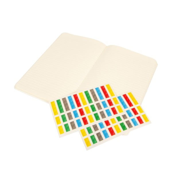 Notes w linie Moleskine Lego White