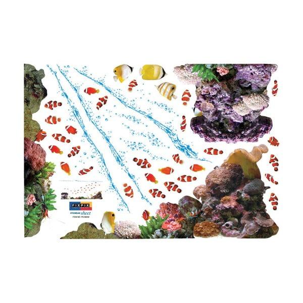 Naklejka Exotic Fishes