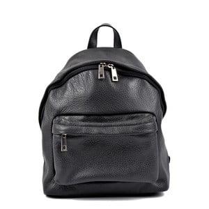 Czarny plecak skórzany Roberta M Kravna